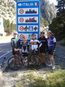 French-Italian Border (Col de Montgenevre)