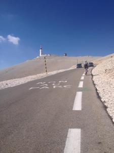 Climbing towards the summit after Chalet Reynard
