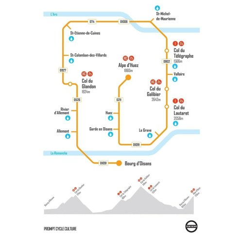b0efcfaa8 Buy our La Marmotte Inspired Cycling Tube Map online exclusively from us